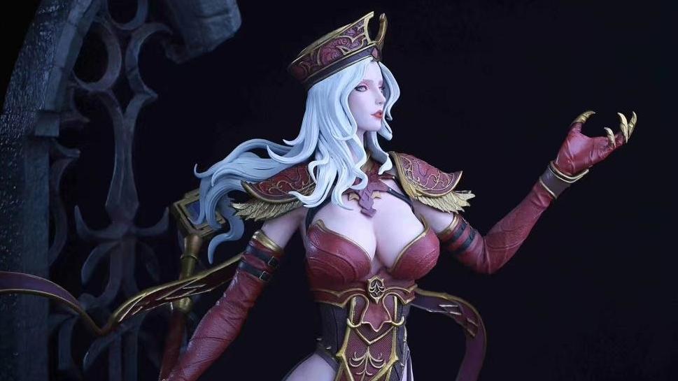 Анонсирована фигурка Салли Вайтмейн из World of Warcraft, которую можно раздеть