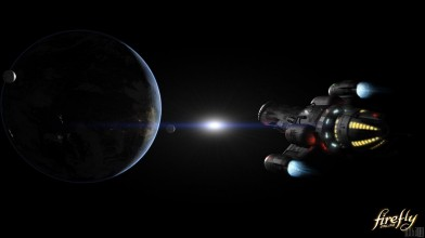 Окружение корабля в Firefly Online