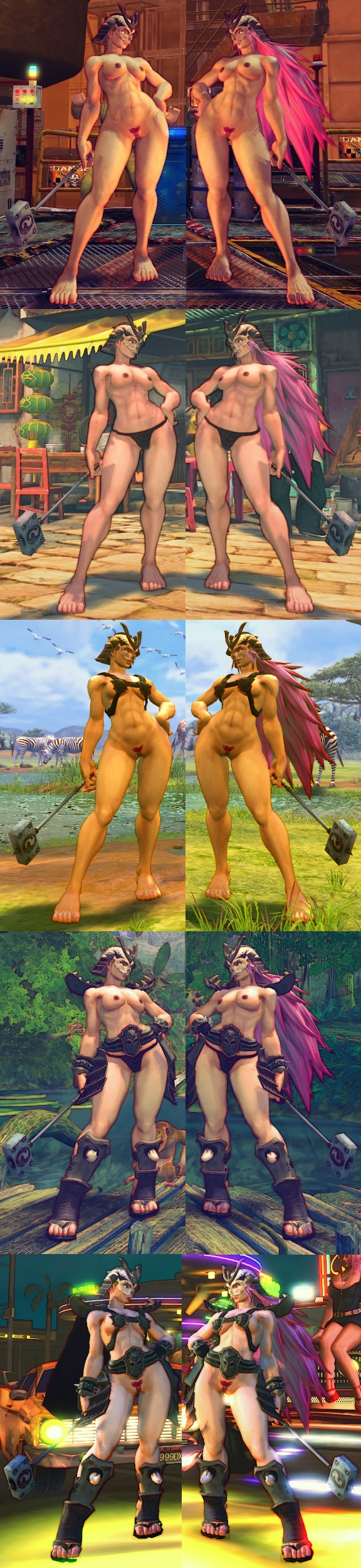 Street fighters nude hentia image