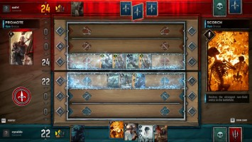 Геймплей Gwent: The Witcher Card Game - Kill The Servers - Monsters Deck Match