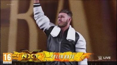 Выход Тайлера Бейта в WWE 2K19