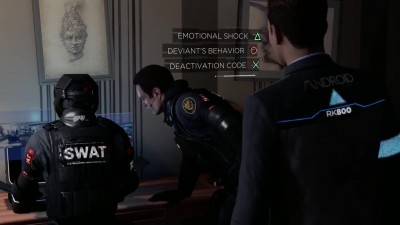 Геймплей Detroit: Become Human