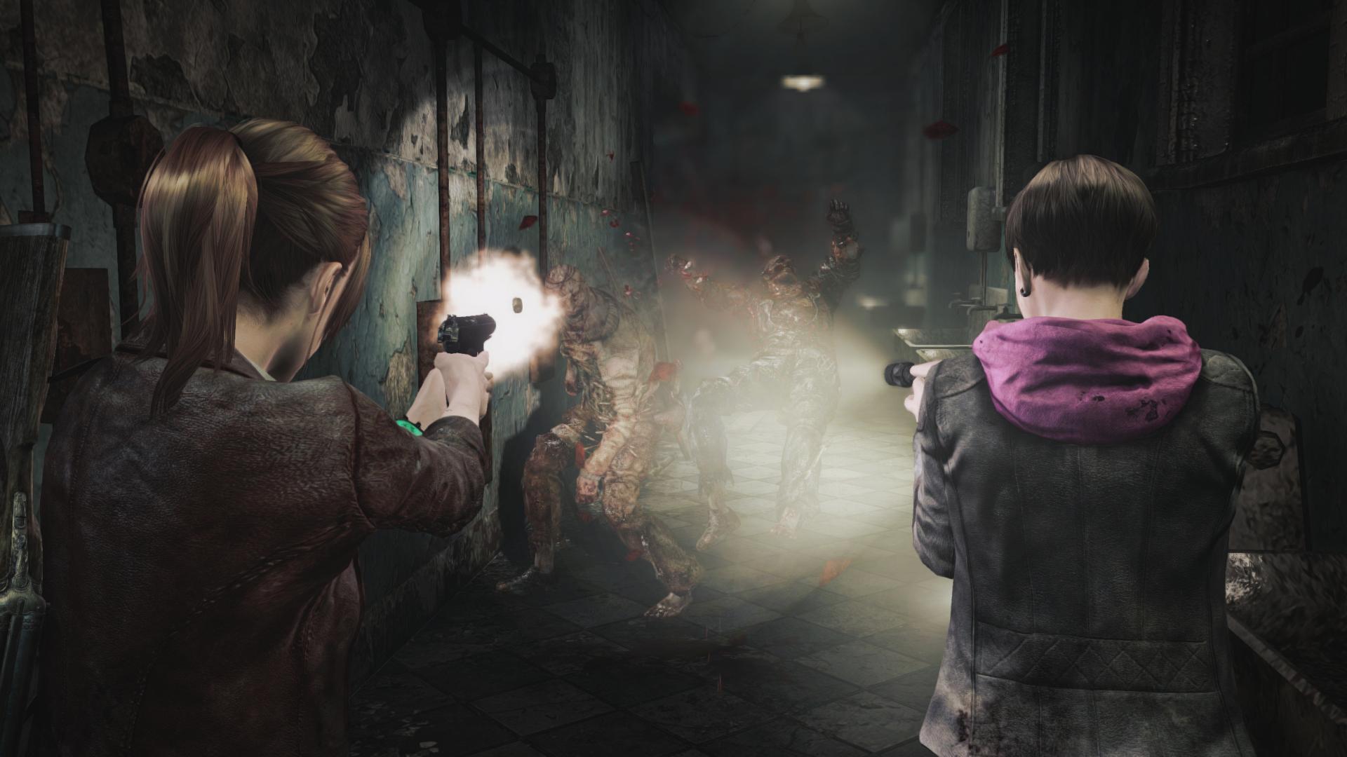 Подробности версии Resident Evil Revelations для Switch