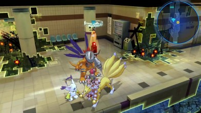 Digimon Story: Cyber Sleuth - 15 минут из англоязычной версии