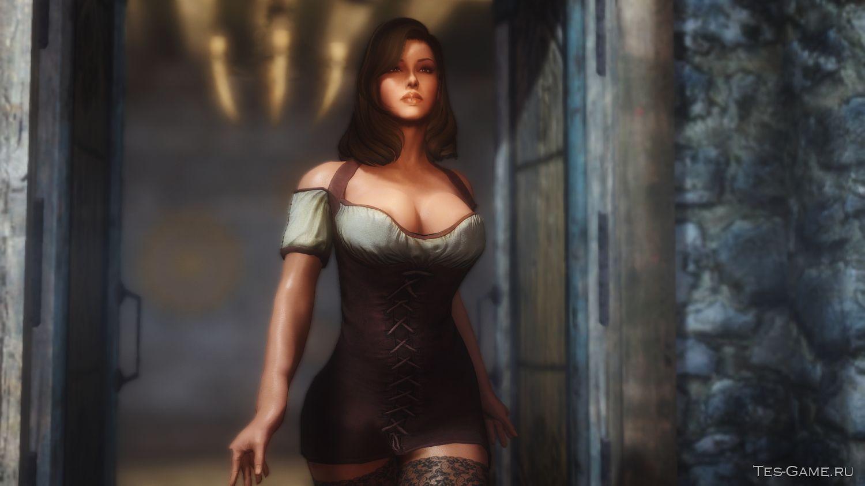 Сексульная броня для девушки в скариме 5