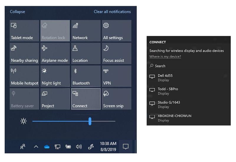 Microsoft лишила Windows 10 ещё одной функции. Убрано приложение Connect