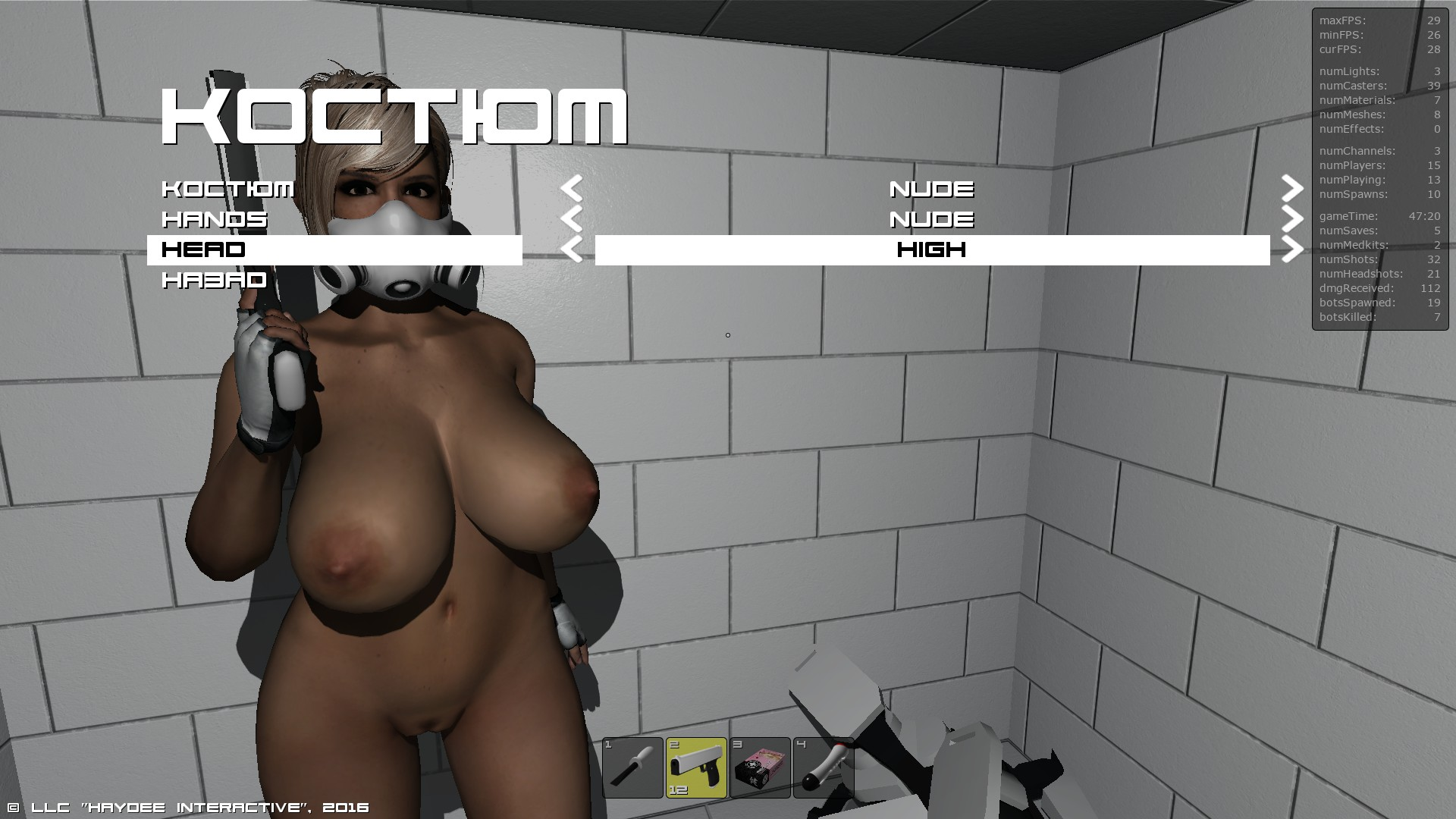 Download nude skin game sexy toons