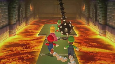 """Mario Party 10 """"Minigame - Spiked Ball Scramble (Wii U)"""""""