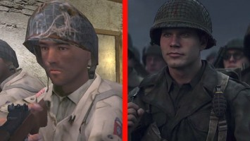Сравнение - Call of Duty (2003) vs Call of Duty: WW2