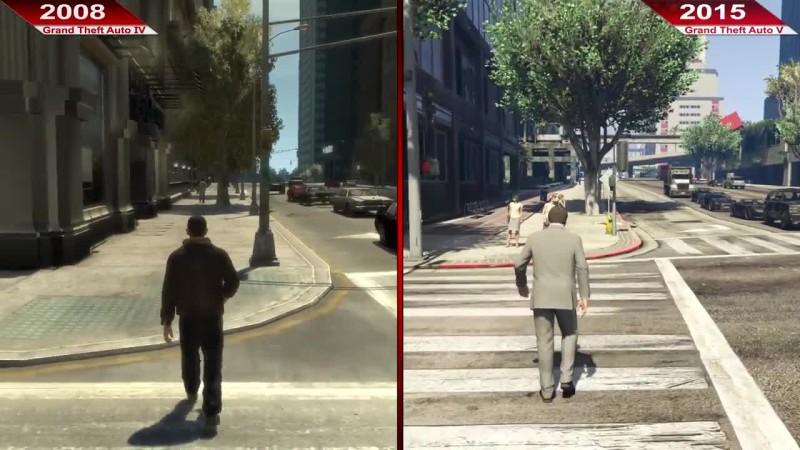История графики GTA (1997 - 2015)   PC   Ультра