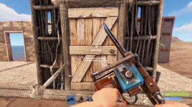 Rust - Бензопила в игре! Первый обзор!