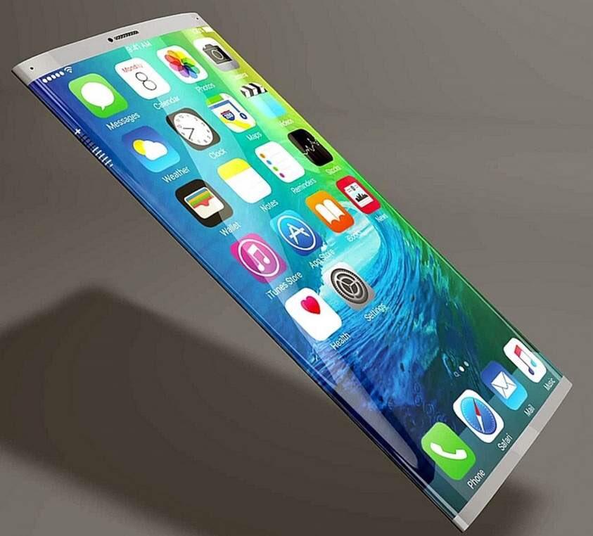 Слухи: iPhone 8 получит обернутый вокруг корпуса экран