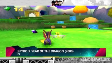 Эволюция игр Spyro