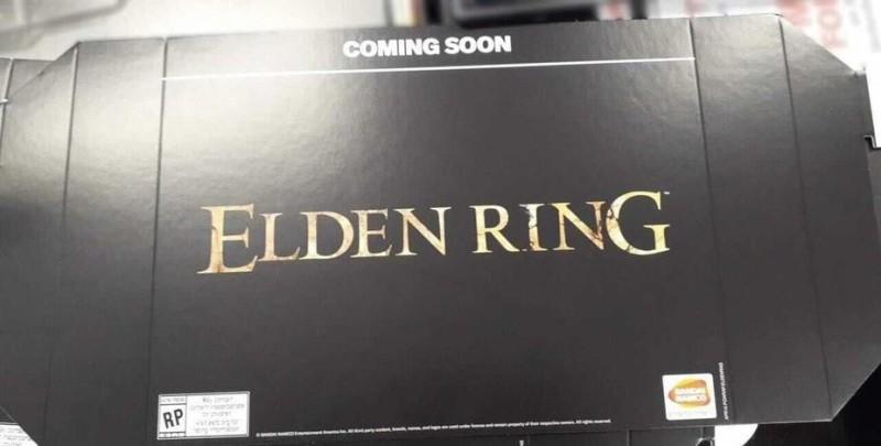 Магазины уже начали получать промо-стенды по Elden Ring