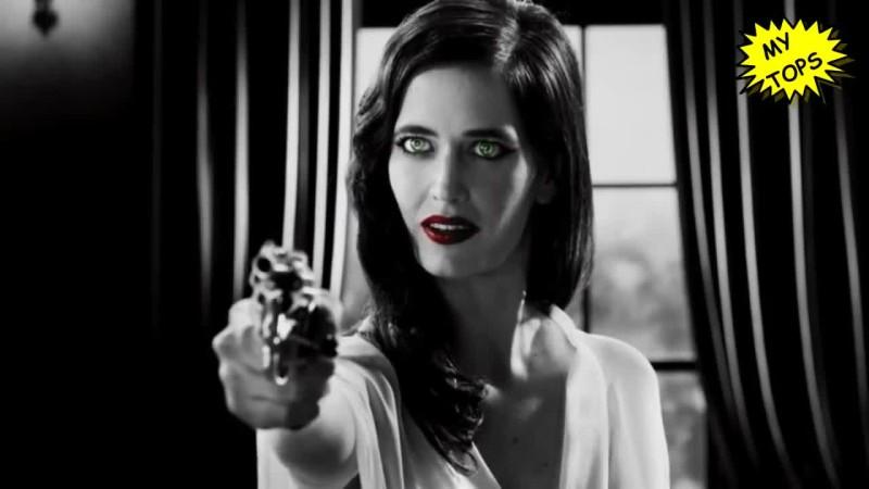 Топ 10 самых эффектных злодеек в фильмах   самые сексуальные женщины актрисы  