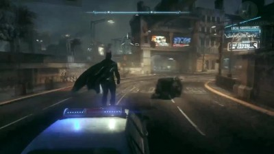 "Batman: Arkham Knight ""Car Surfing Batman"""