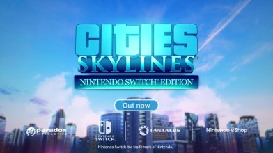 Cities: Skylines - анонс для Nintendo Switch