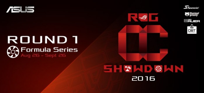 ROG OC Showdown 2016 Formula Series
