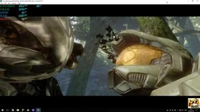 Пример работы Halo 3 на эмуляторе XBOX 360