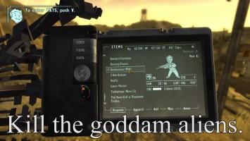 """Fallout: New Vegas """"Видео о том, как ненужно устанавливать моды"""""""