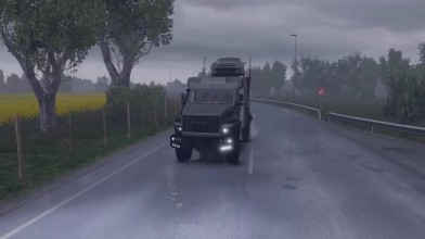 Euro Truck Simulator 2 - Обзор Ural-Off Road от mTG
