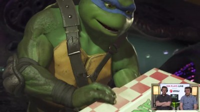 2 часа геймплея Injustice 2 Teenage Mutant Ninja Turtles DLC
