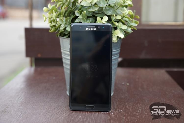 В Самсунг задумались о обновлении продаж Galaxy Note 7