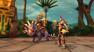 Blizzard показали новые расы в World of Warcraft