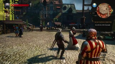 Witcher 3 Ryzen 1800X + GTX 1080 - Novigrad FPS Test (Ultra)