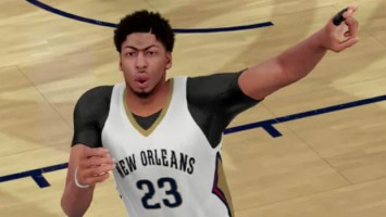 Трейлер NBA 2K16 - Anthony Davis