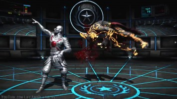 All X Ray Moves on Corrupted Shinnok