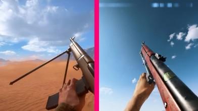 Battlefield V против Battlefield 1 сравнение оружия и перезарядки