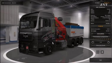 "ETS 2 ""Man TGX 2010 v4.1 by XBS"""