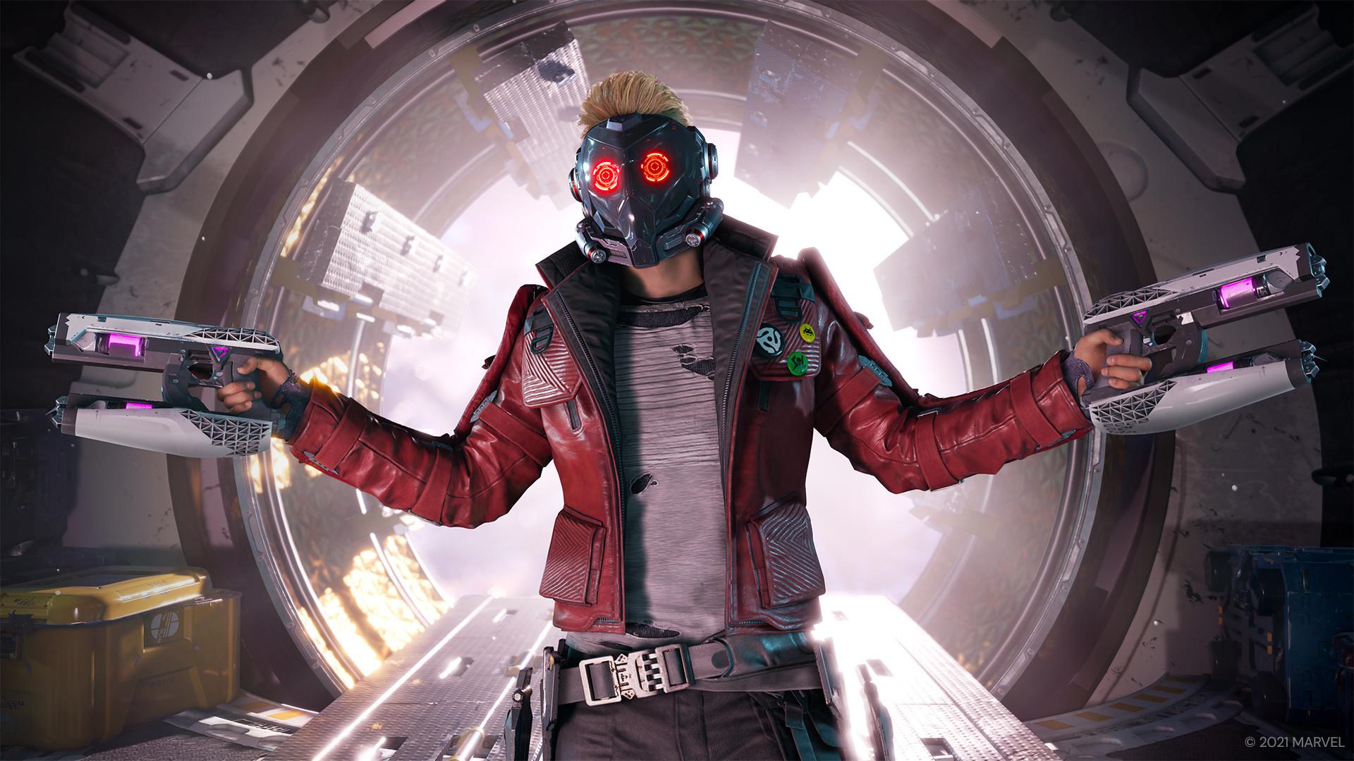 К боевику Marvel's Guardians of the Galaxy вышли 2 трейлера: в одном показан босс-файт, а в другом - набор скинов
