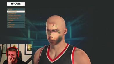 """NBA 2K16 """"Результаты работы приложения для перемещения своего лица!"""""""