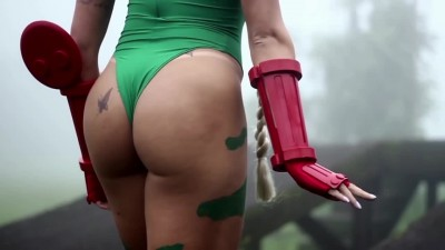 Косплей Jaqueline Marques - Cammy (Fan Service)