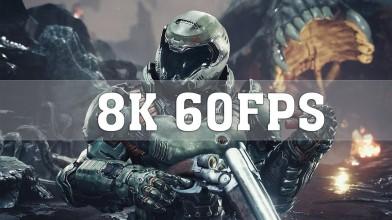 Doom и Shadow of War запустили с разрешением 8K на двух Nvidia Titan RTX