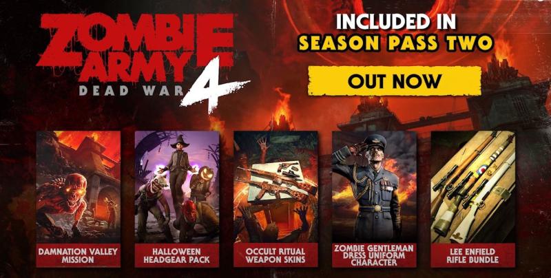 Первый контент второго сезонного пропуска для Zombie Army 4