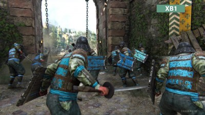 For Honor Closed Alpha - Сравнение графики PC vs. PS4 vs. Xbox One (Candyland)