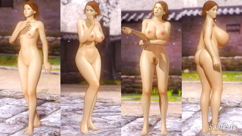 DOWNLOAD: MIHARU HIRANO - HLOD nude pack [DOA5LR] by SaafRats