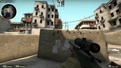"Counter-Strike: Global Offensive ""Гайд по Прострелам (mirage, dust_2)"""
