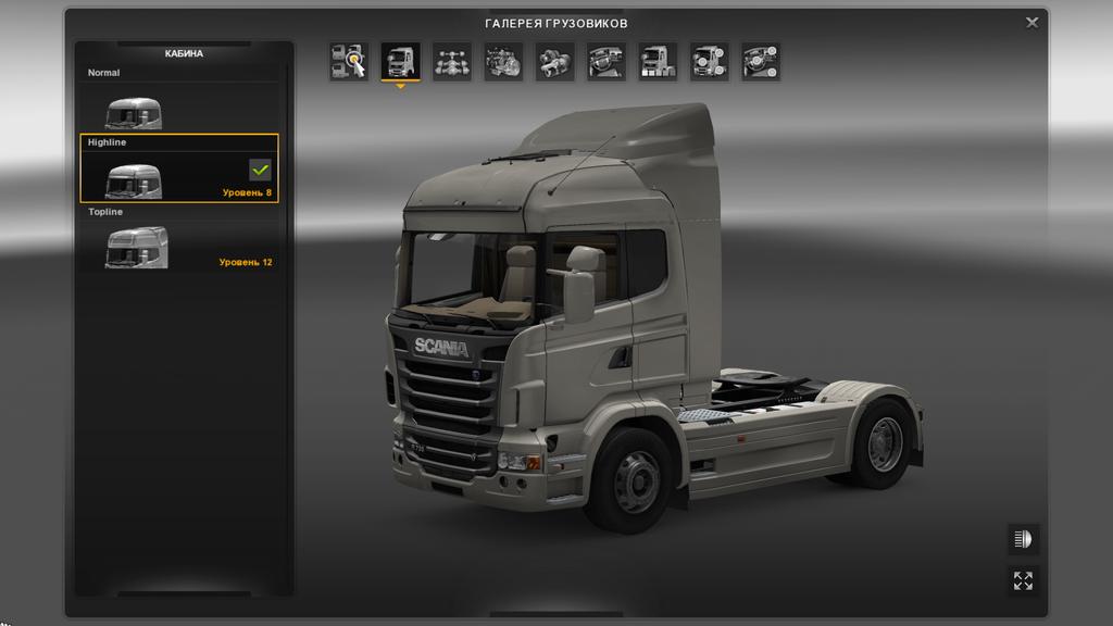 скачать мод на свет в кабине для Euro Truck Simulator 2 - фото 10
