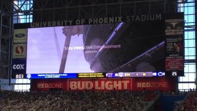 Трейлер God of War показали на стадионе
