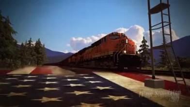"Train Simulator 2013 ""Трейлер Marias Pass"""