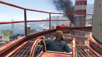 GTA 0 Что делает Тревор когда мы убиваем Майкла! Этого не может быть!
