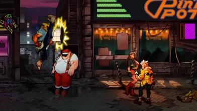 Street Of Rage 4 - Первый геймплей