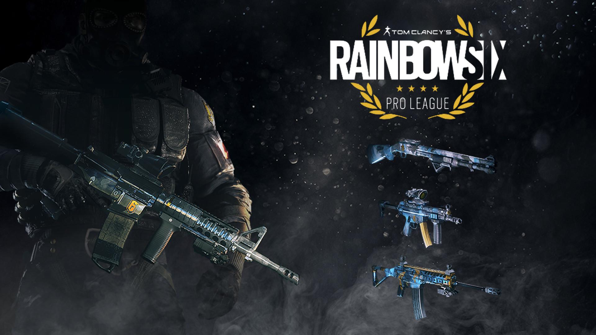 Раскраски для оружия профессиональной лиги Rainbow Six ...