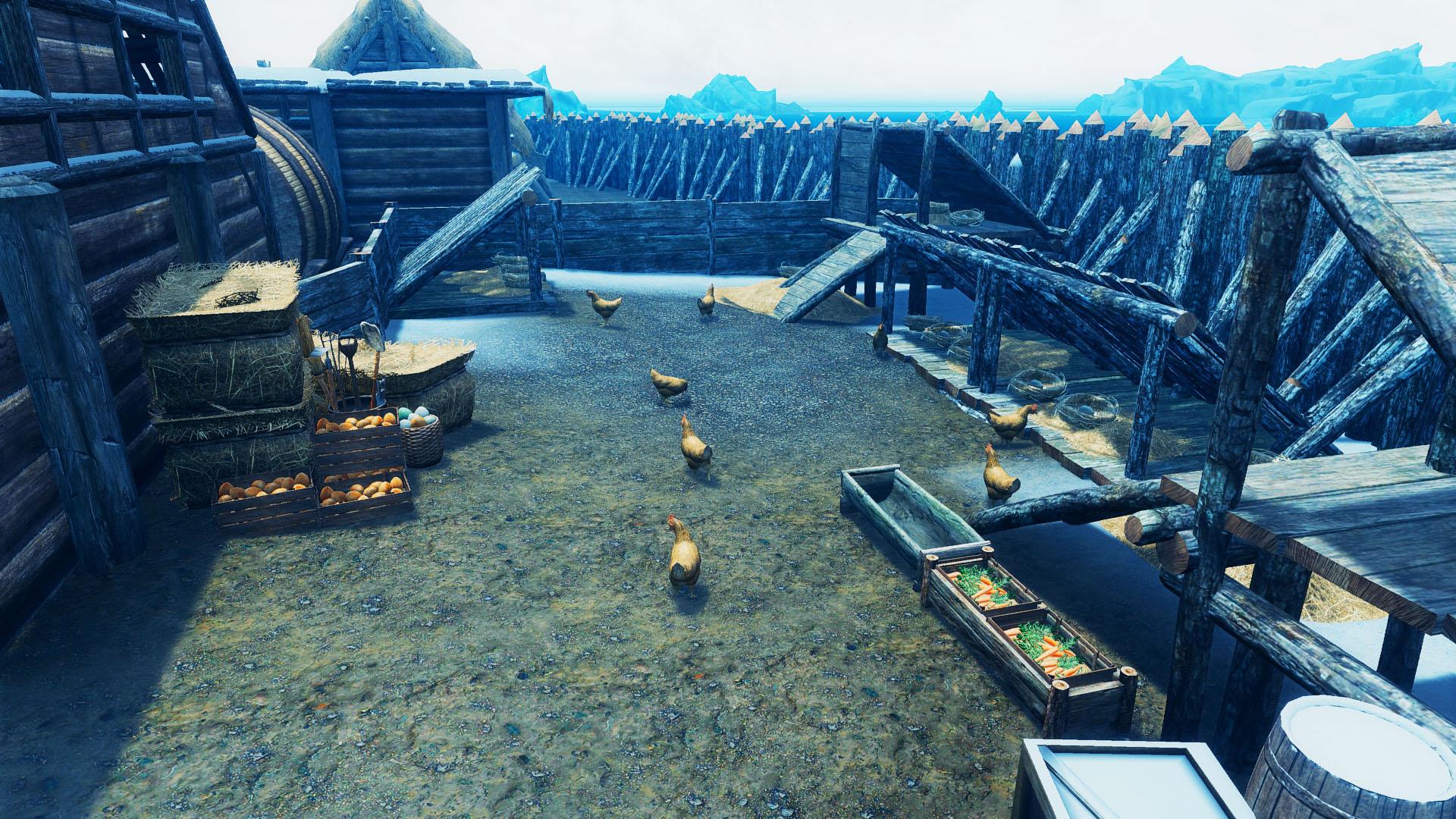 Мод для skyrim превратил деревни в города.