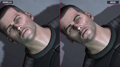 Mass Effect 2 - Vanilla vs. ALOT Texture Mod Pack - Сравнение графики