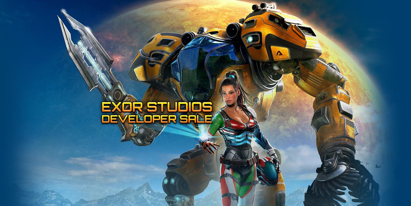 В Steam стартовала распродажа издателя Exor Studios
